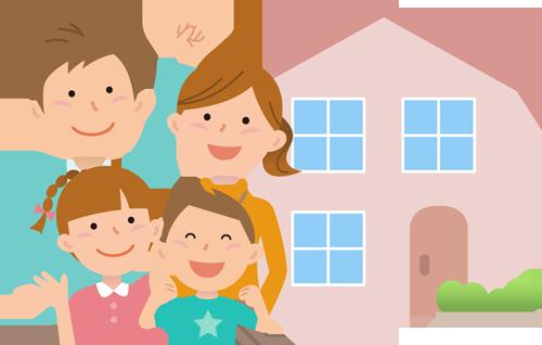 住宅診断(ホームインスペクション)はホームインスペクション富士の住宅を購入される方がより安心して購入をできるイメージ画像